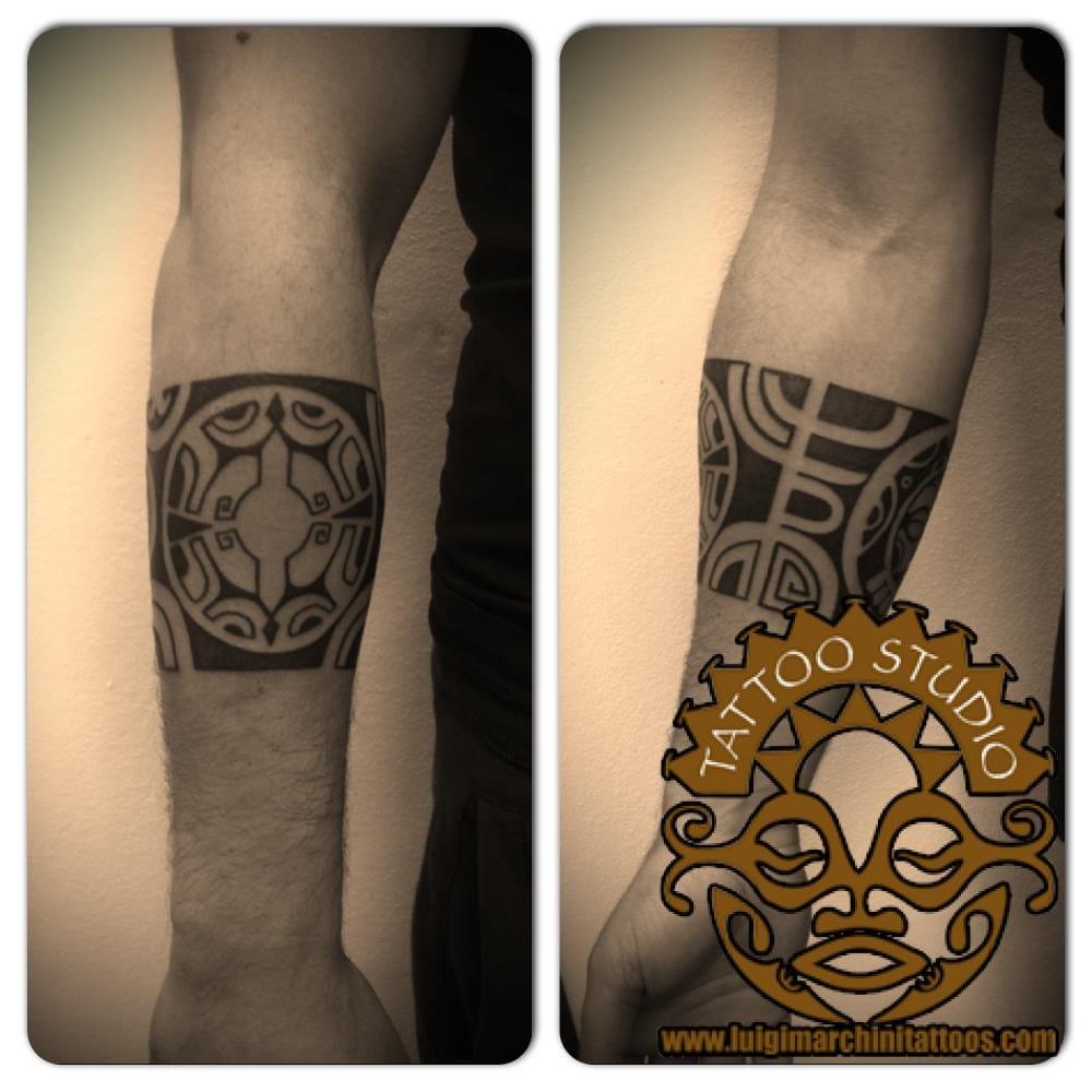 Fabuleux Maori Tatuaggio Bracciale Pictures to Pin on Pinterest - TattoosKid OU66
